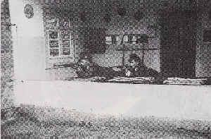Der KK-Schießstand in Hofweier 1958